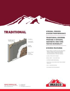 IMASCO Traditional Stucco Systems Brochure