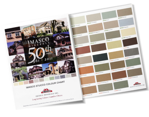Request an Imasco Stucco Colour Chart