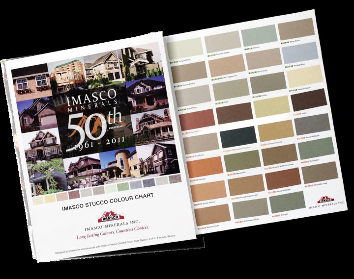 Stucco Colours & Textures | Imasco Minerals Inc
