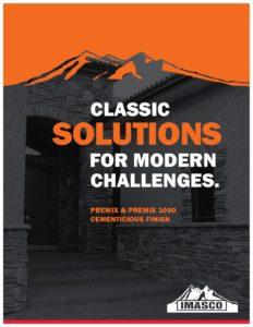 Premix & Premix 1000 Cementicious Finish Brochure